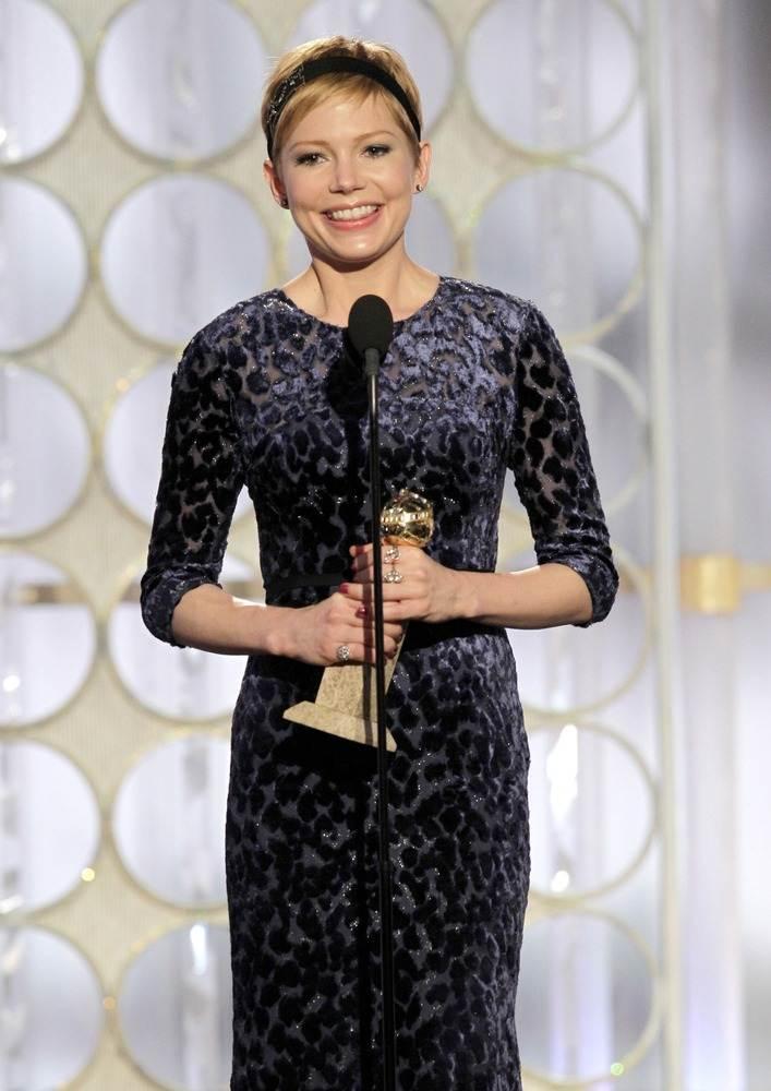 """Мишель Уильямс - лучшая женская роль в кинофильме """"Моя неделя с Мэрилин"""""""