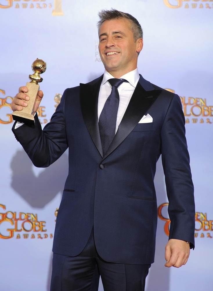 Мэтт ЛеБланк выиграл Глобус, как лучший комедийный актер в фильме  - Эпизоды