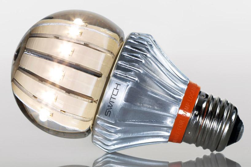 switch представила новую технологию охлаждения светодиодных ламп