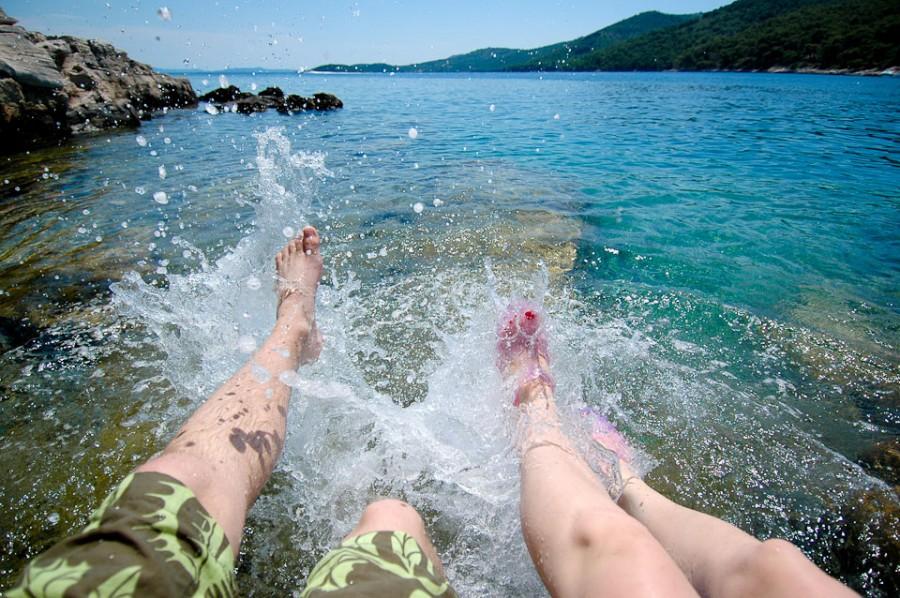 На море в Хорватии