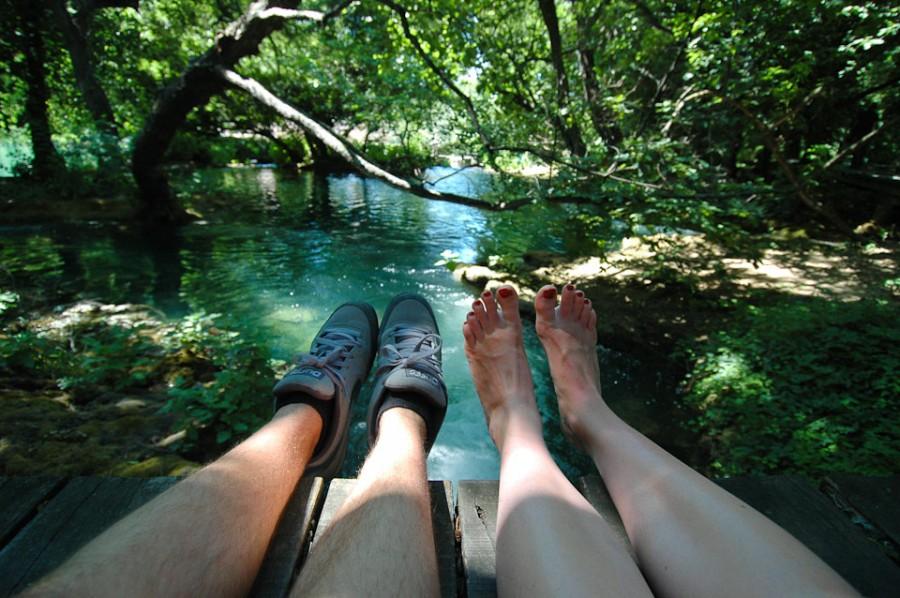В Национальном парке Крка в Хорватии