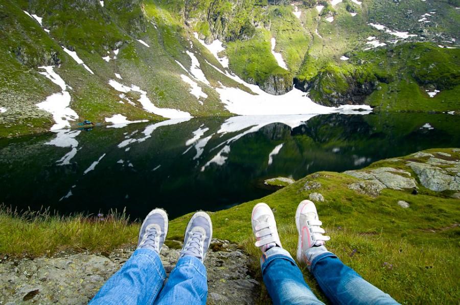Озеро Быля в Румынии