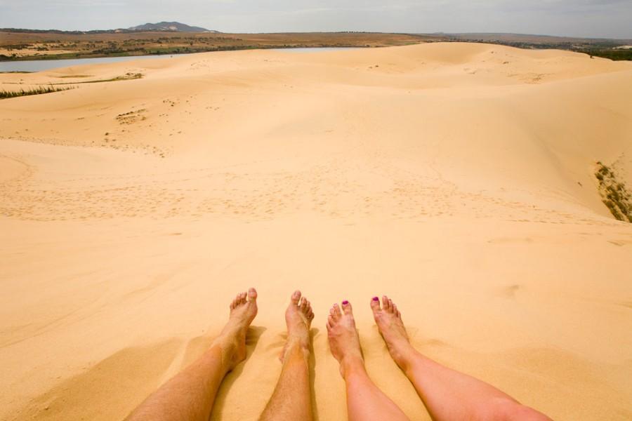 Белые песчаные дюны Вьетнама