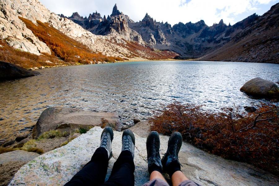 В национальном парке Науэль Хуапи в Аргентине