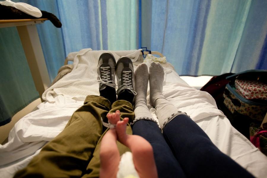 Рождение Матильды в больнице Лондона