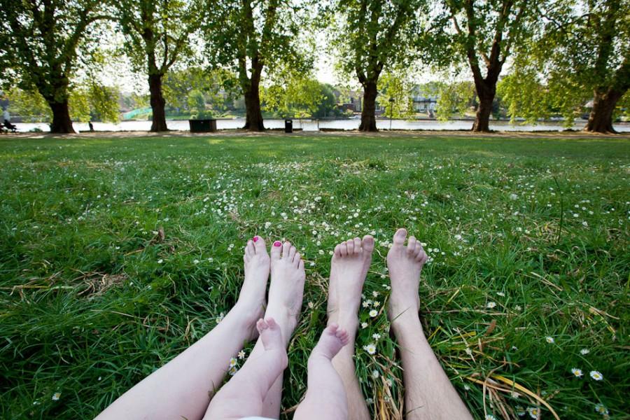 Пикник в районе Кингстон, Лондон