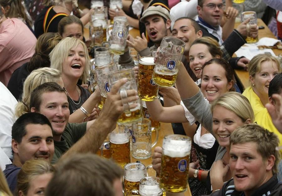 Октоберфест - праздник пива в Баварии