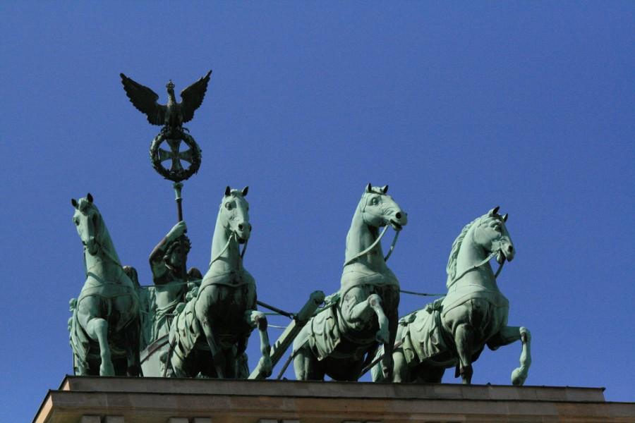 Бранденбургские ворота, фото Pleasureprinciple2011