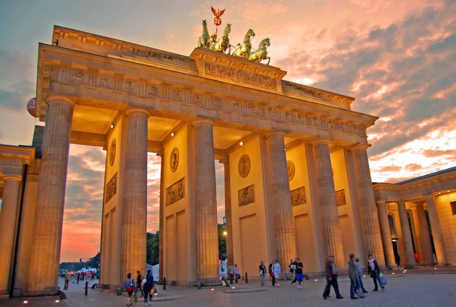 Бранденбургские ворота, фото cole_q