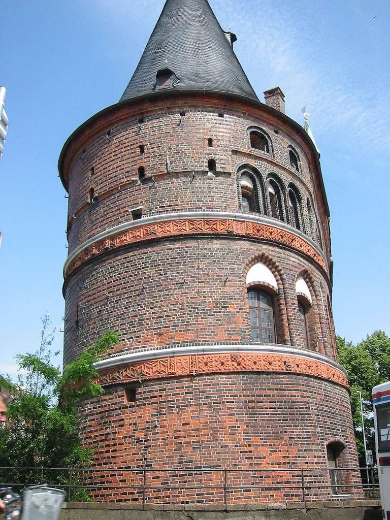 Holstentor - Хольстентор городские ворота, фото kjaer.hansen