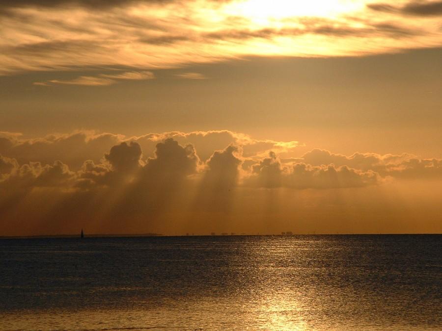 Вид на море с островов
