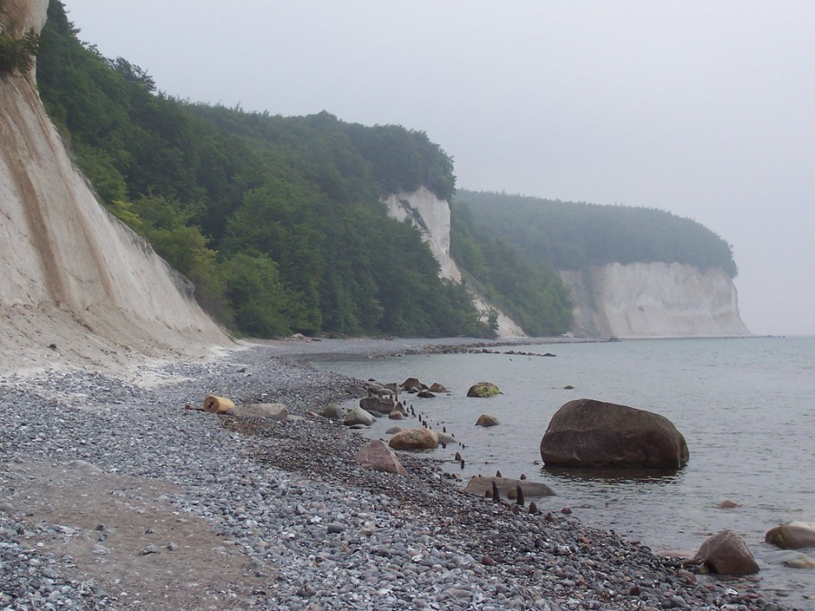 Rügen Cliffs - скалы Рюген, фото Ranger X