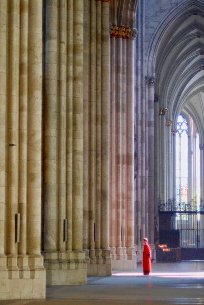 Внутри Кельнского кафедрального собора, фото wilhelmja