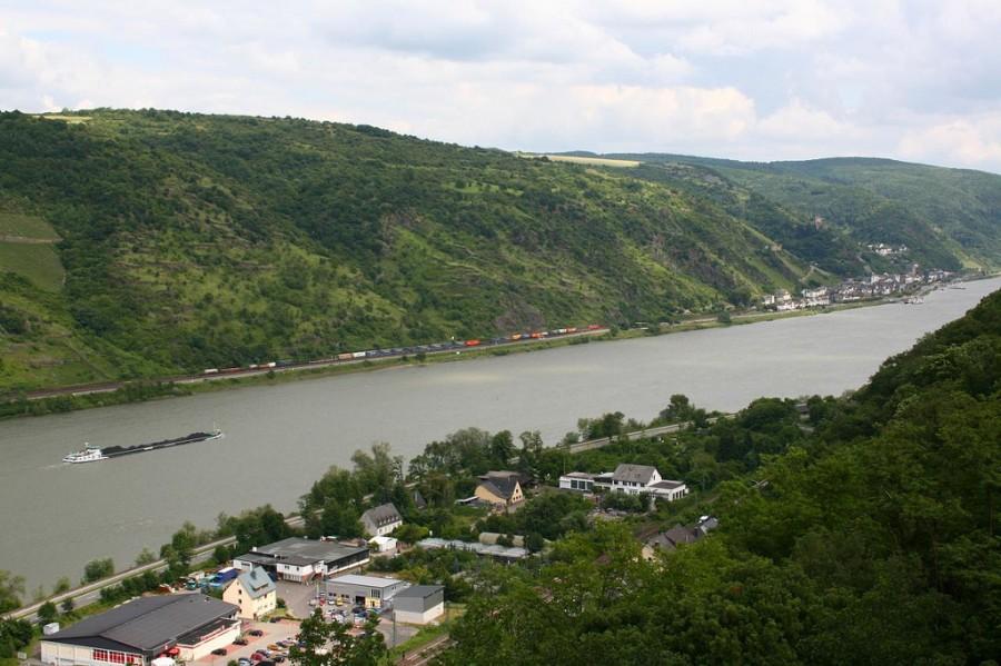 Romantic Rhine - романтический Рейн, фото star shaped box