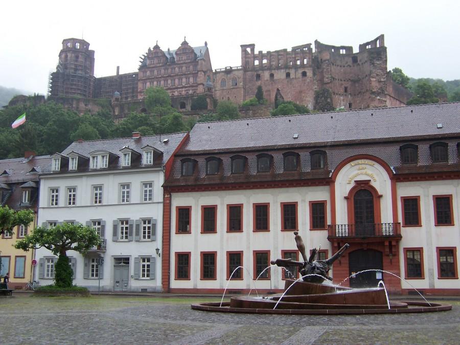 Heidelberg - Гейдельберг старый город, фото rogue11