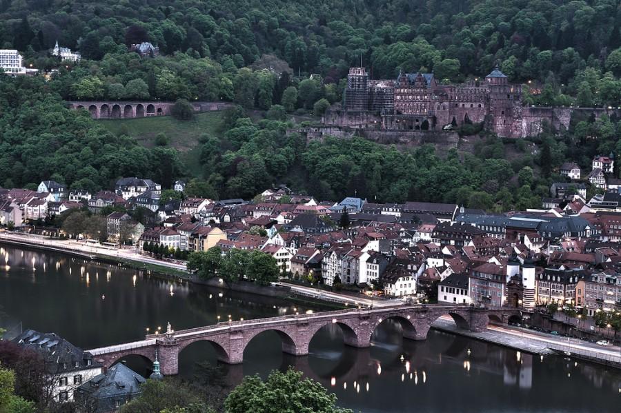 Heidelberg - Гейдельберг старый город, фото shootergp