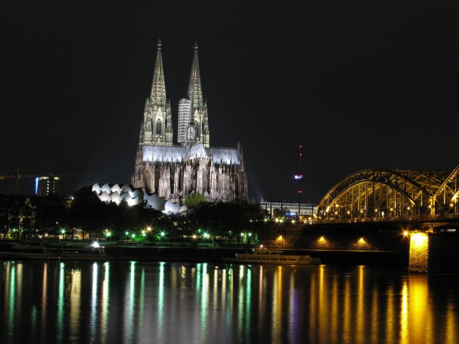 Кельнский кафедральный собор, фото HïD_style