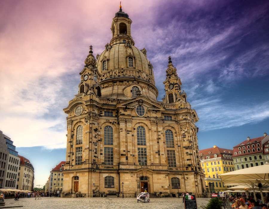 Frauenkirche - Фрауэнкирхе (церковь Богоматери), фото Wolfgang Staudt