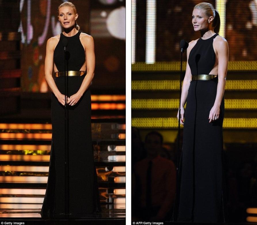 Gwyneth Paltrow объявляет победительницу
