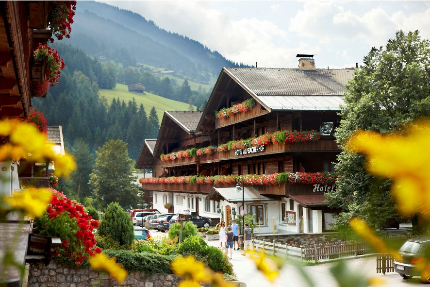 Alpbach в Австрии
