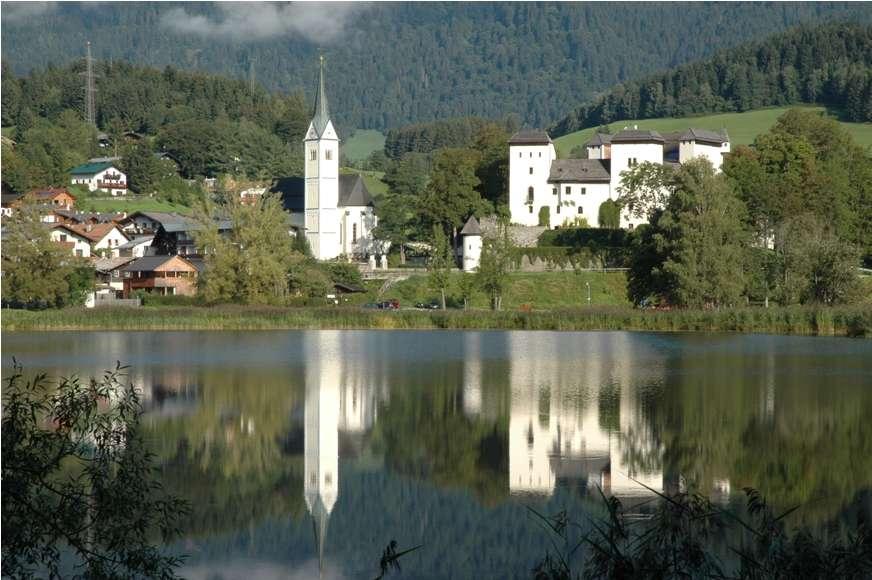 Goldegg в Австрии