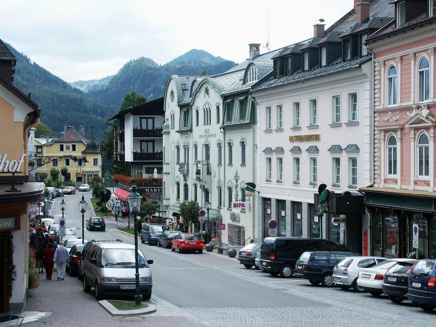 Mariazell в Австрии