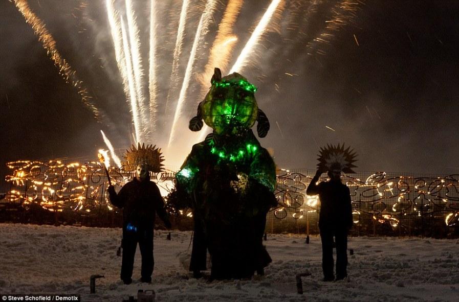 Какое зрелище: фестивальный финал с Green Man