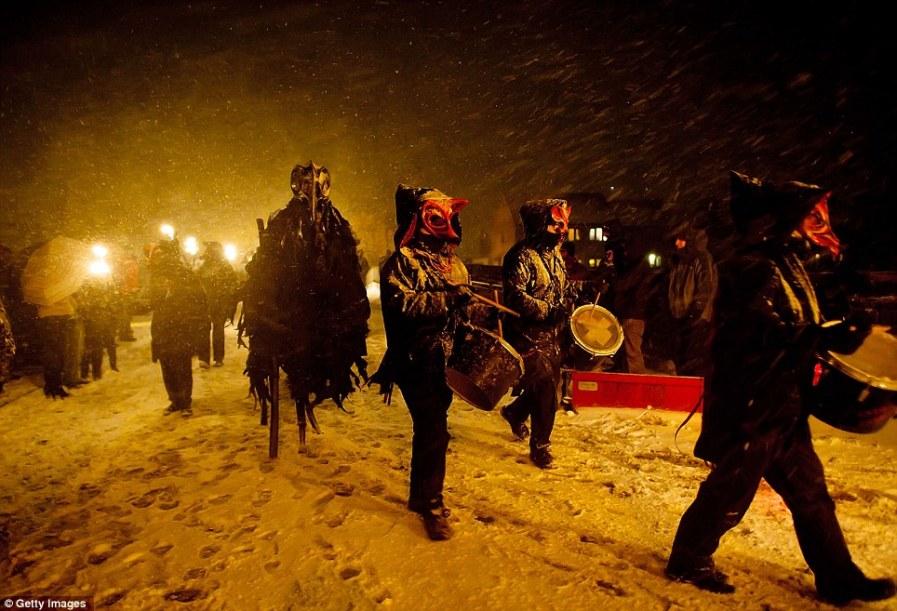 Шествие: Фестиваль уходит корнями к кельтам на 2 000 лет назад