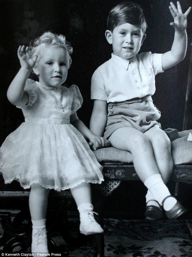 Невероятно естественные фото детей Королевы