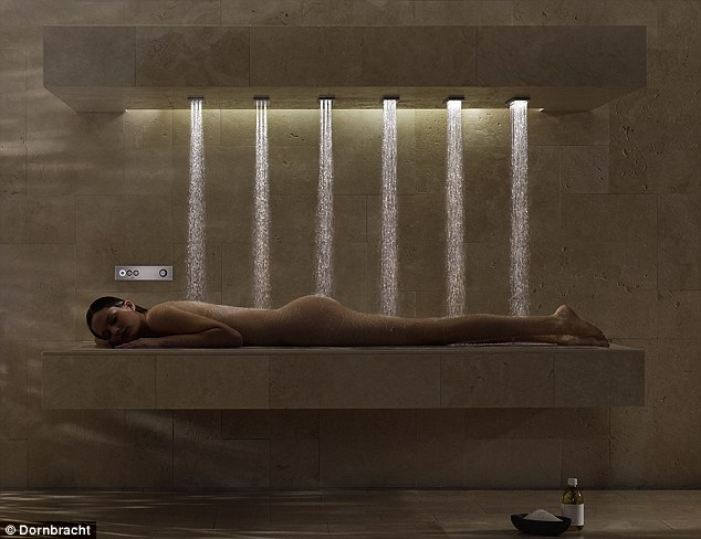 Устройство, совмещающее в себе кровать, душ, массаж