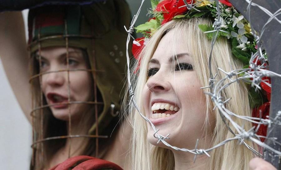 FEMEN в Цюрихе