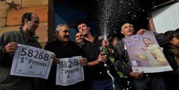 Испанская деревня стала миллионером