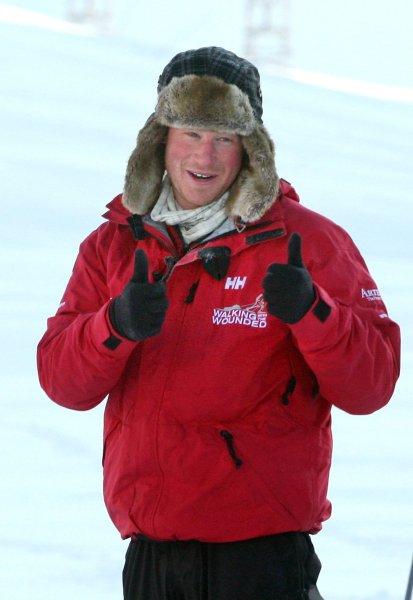 Принц Гарри 31 марта 2011 года