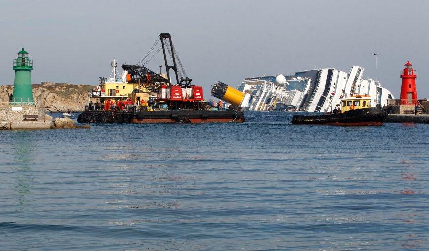 Costa Concordia стал очередной жертвой этого места