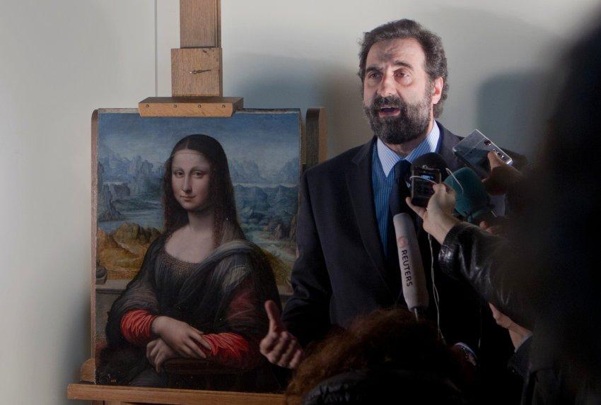 Miguel Falomir представляет картину в Музее Прадо