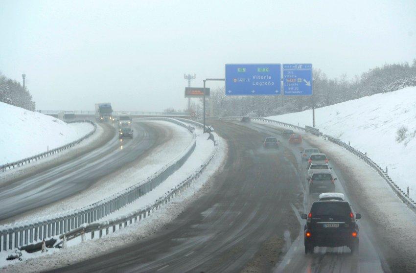 Испанские дороги сегодня доставляют водителям много хлопот