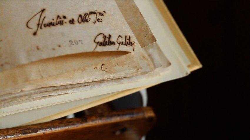 Подпись Галилео Галилей