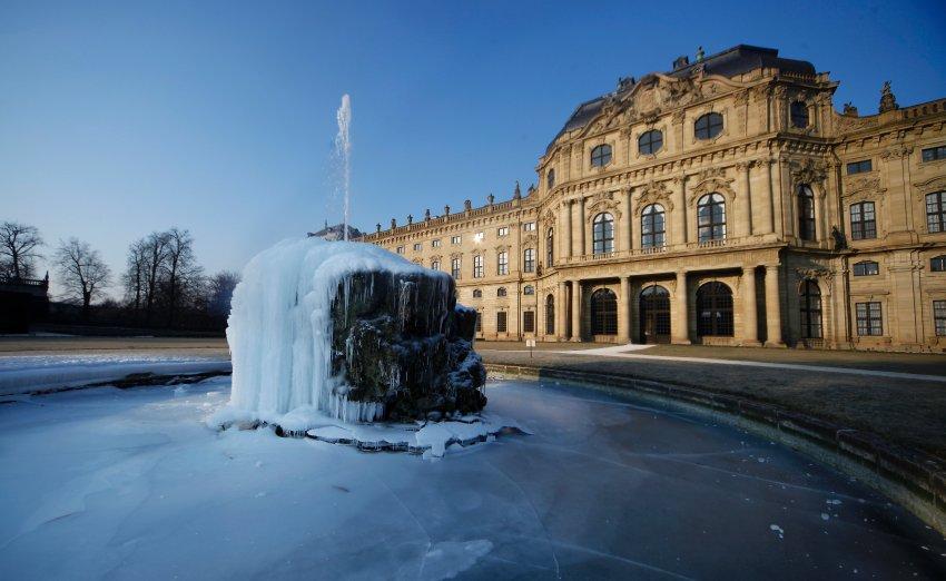 Зимнее волшебство в Вюрцбурге