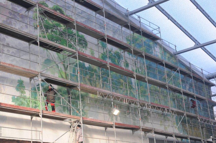 1000 квадратных метров здания превратятся в джунгли