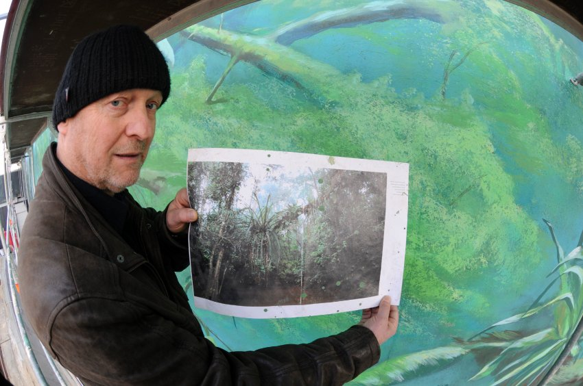 Уве Тюрнау создает джунгли в зоопарке города Росток