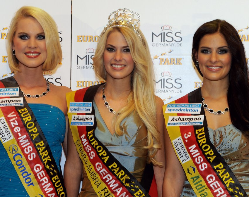 Miss Germany 2012 - трио победительниц