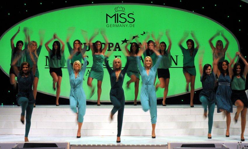 Участницы конкурса продемонстрировали танцевальные таланты