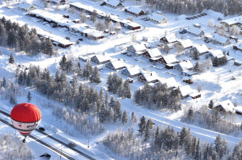 Швеция с высоты птичьего полета