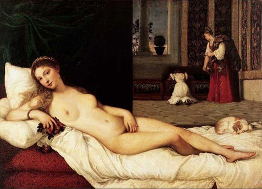Венера Тициана потеряла свои округлости