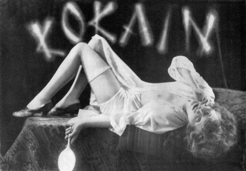 Кокаин в двадцатых годах был на пике моды