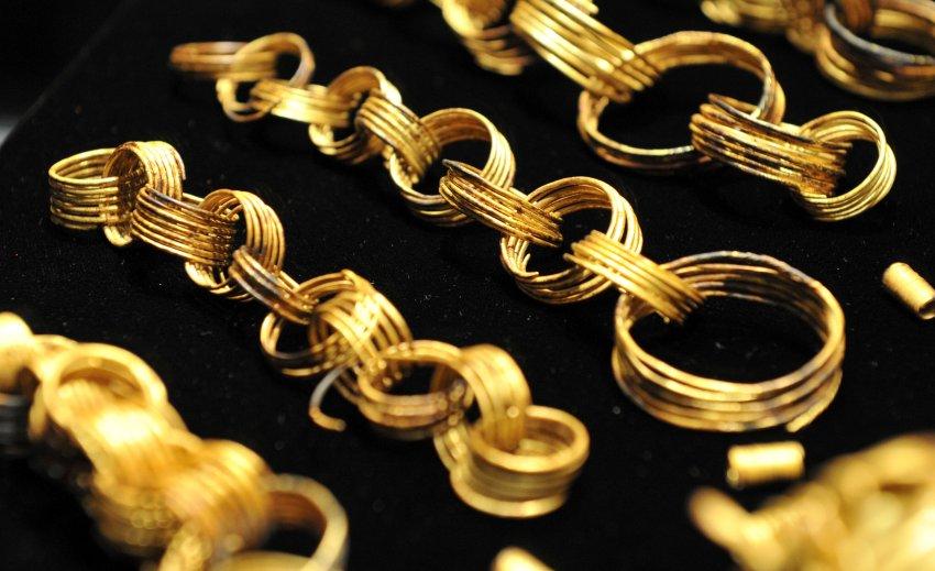 Один из крупнейших золотых кладов Центральной Европы