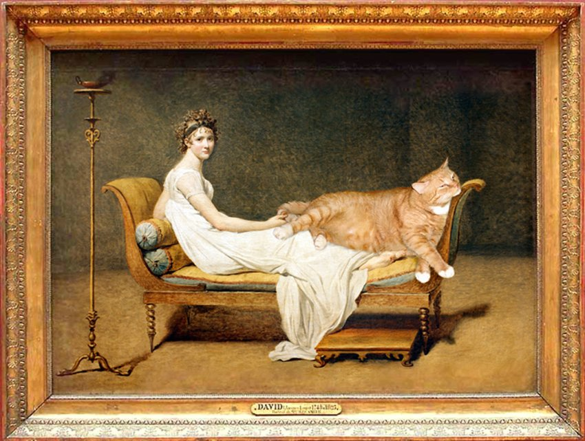 madam odalisque and lady olympia