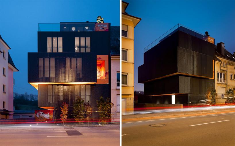 Апартаменты в Люксембурге от компании Мetaform atelier d'architecture