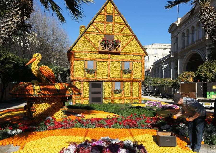 79-ый цитрусовый фестиваль в Ментоне