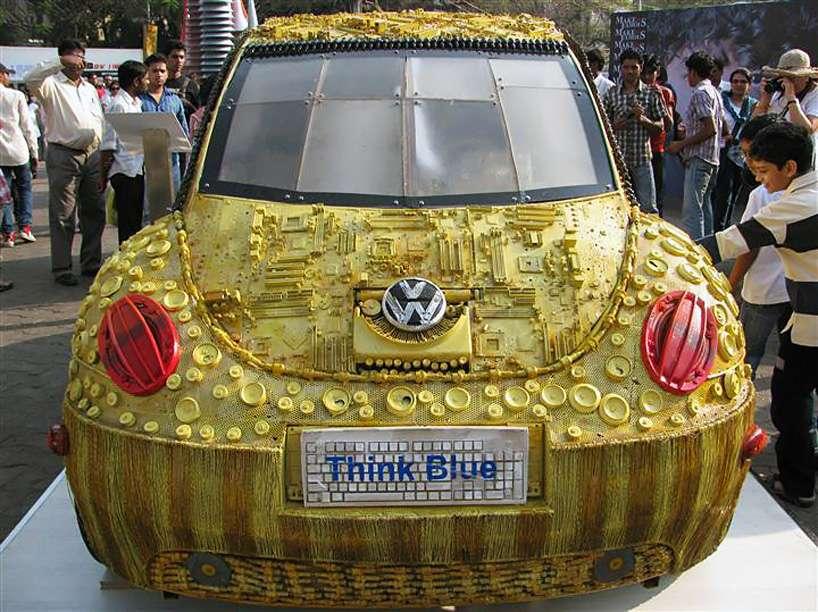 Легендарный Volkswagen beetle от Haribaabu Naatesan